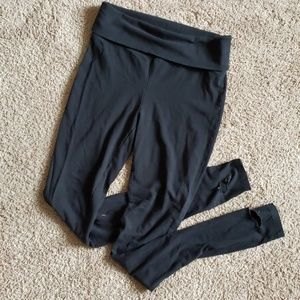 Well worn yoga pants